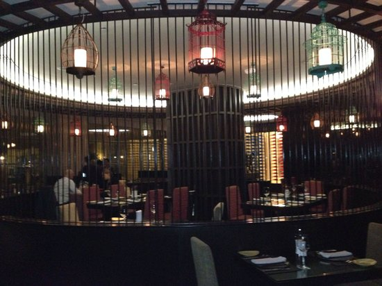 EEST - The Westin Gurgaon: Center of dining room
