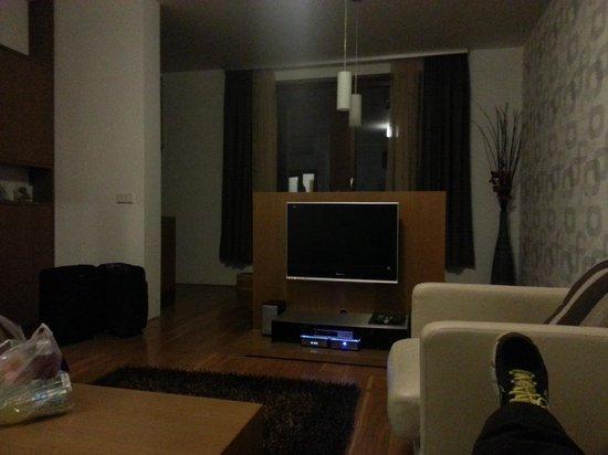Rezidence Vysehrad: living