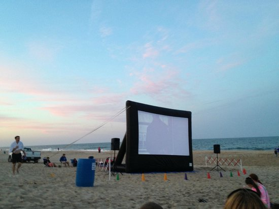 Carousel Resort Hotel & Condominiums: Family Movie Night on the Beach, a Family Favorite!