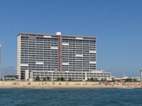 Carousel Resort Hotel & Condominiums: Another View of the Carousel Resort Hotel from the Sea Rocket