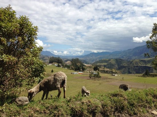 Black Sheep Inn Ecolodge: On the road from Sigchos about 2 KM from the hotel