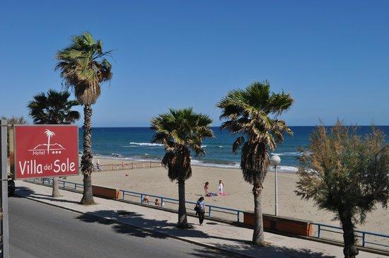 Villa del Sole Hotel: отель на 1 линии