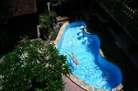 Hotel Lumbung Sari: Небольшой глубокий бассейн.