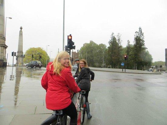 Tally Ho! Cycle Tours: corner shot