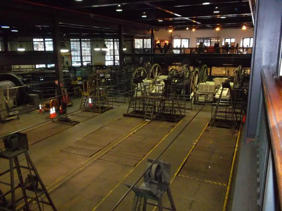 Cable Car Museum: Подстанция