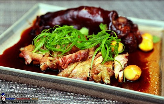 Tiago Progressive Filipino Cuisine : Pinausukang Chicken and Pork