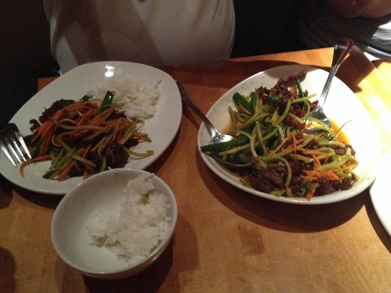 P.F. Chang's: Hauptspeise