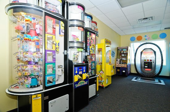 Buccaneer Bay Indoor Aquatic Center : Enjoy our arcade, as well.