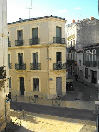 Hotel de Paris: Вид из окна