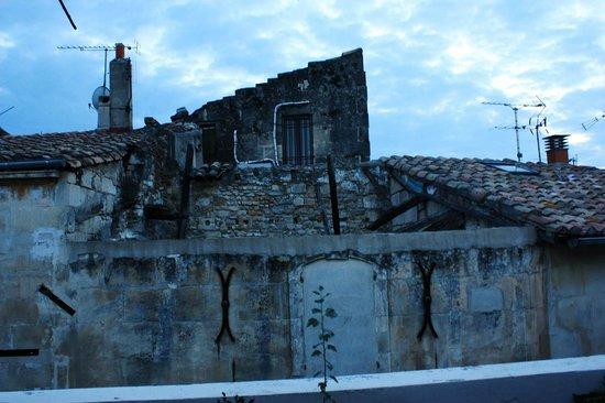 L'Aubergine Rouge: Vista dalla suite