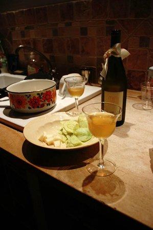 L'Aubergine Rouge: Nella suite si può cucinare...