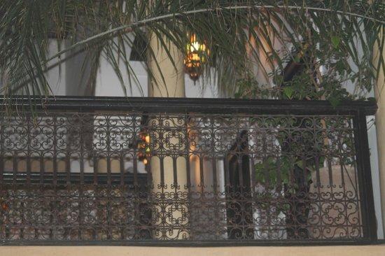 Riad Itrane : interno del riad