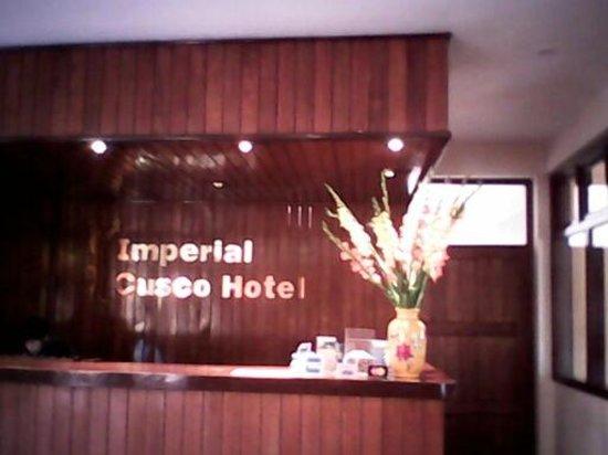 Imperial Cusco Hotel: recepção do hotel