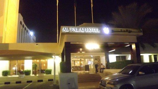 Al Falaj Hotel: Hotel Entrance