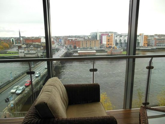 private balcony picture of limerick strand hotel. Black Bedroom Furniture Sets. Home Design Ideas