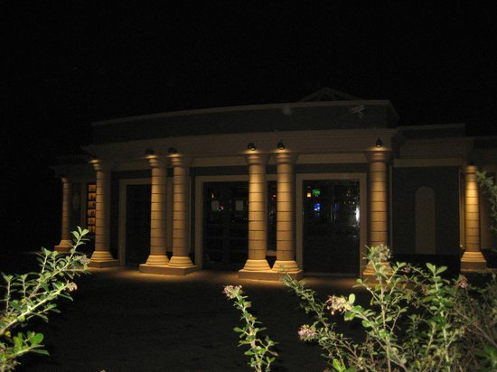 The Bell Pub: Exterior at night