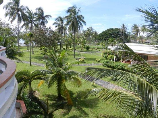 Sokha Beach Resort: jardin