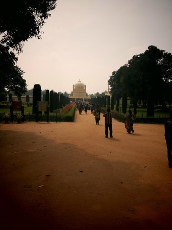 Gumbaz Burial Chamber: View from the Main Gate