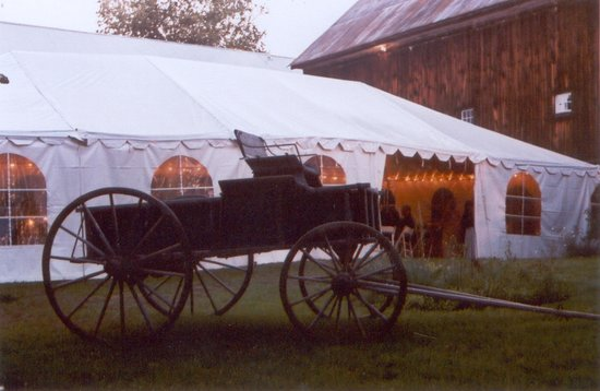 Colby Hill Inn: The Perfect locale for a beautiful tented wedding reception