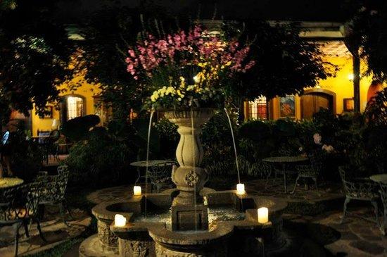 Hotel Casa Antigua : Fountain