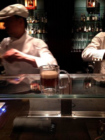 Tapas Molecular Bar: Our fav- Espresso with foie gras and porcini mushroom