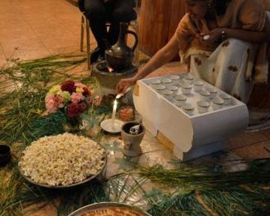 Kings Hotel : Ethiopian New Year Coffee ceremony