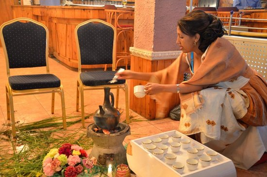 Kings Hotel : Coffee Ceremony for Ethiopian New Year at Kings