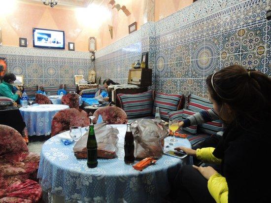 Tijani Hotel: 저렴하고 맛있어요~압둘쿠스쿠스