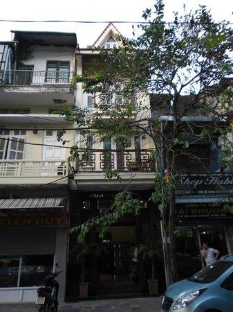 Paradise Boutique Hotel: Hotel von außen