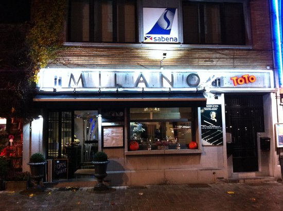 Zaventem, Belgien: Il Milano di Toto
