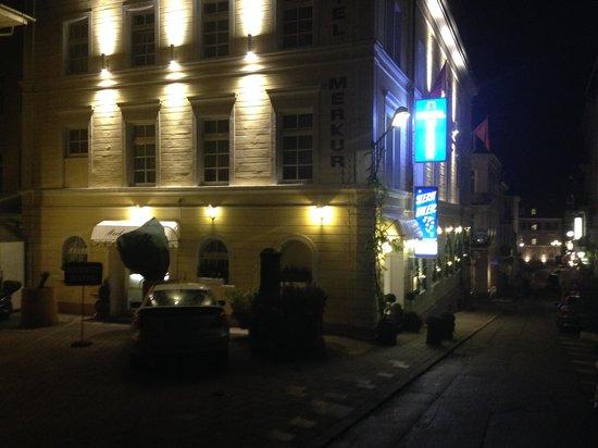 Hotel Merkur: esterno