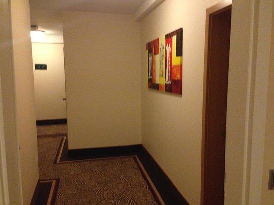 Hotel Merkur: interno
