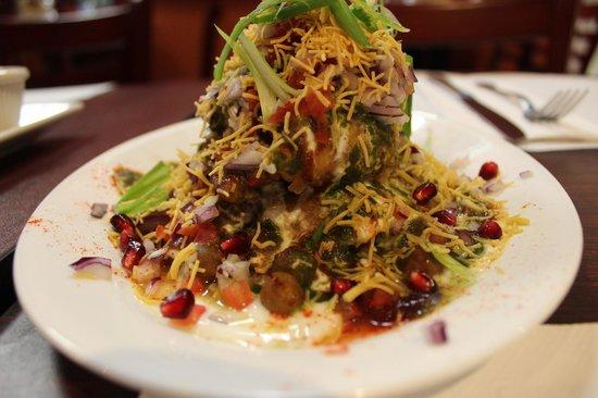 Bombay Kitchen: Samosa Chaat