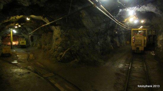 Britannia Mine Museum: In one of the mny tunnels...