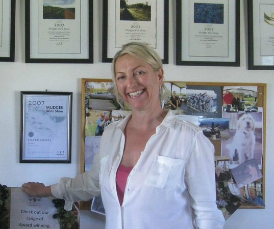 Petersons of Mudgee: Allison is charming and knows her wines!