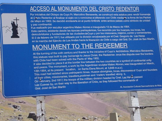 Mendoza Holidays: Carteles Indicadores