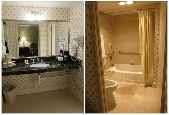 Hotel St. Marie: Bathroom Room 223