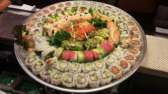 Asagao Sushi : party plater