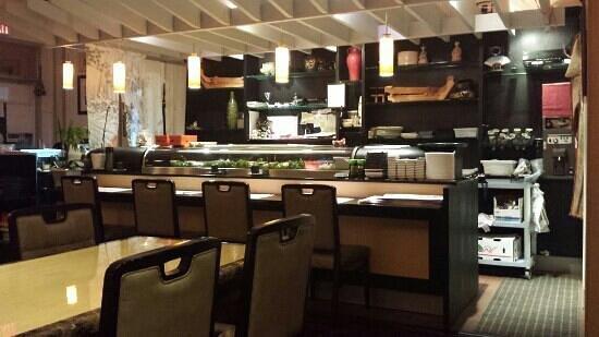 Asagao Sushi: interier