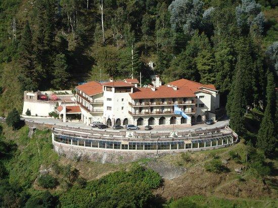 Termas De Reyes, Arjantin: El Hotel y su paisaje