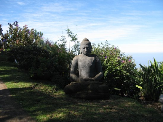 Ali'i Kula Lavender Farm: One of many statues.