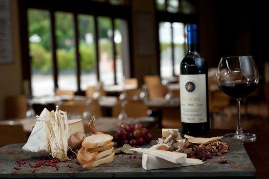 Restaurant Le Spago : Assiette de fromages