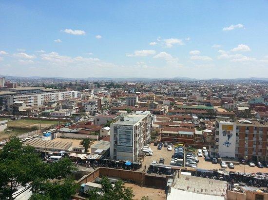 Hotel Belvedere: Vista della città