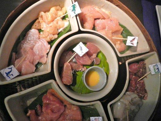 Cambodian BBQ Restaurant: carne e pesce