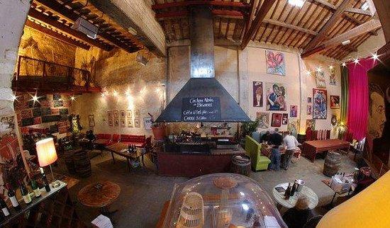 Le Patio : intérieur du restaurant