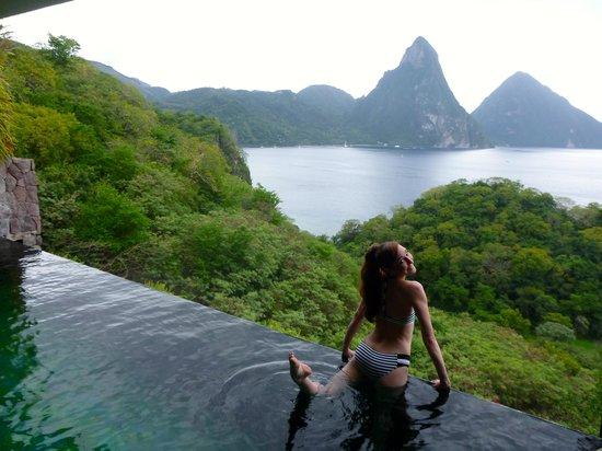 Jade Mountain Resort : Joy at Had Mountain