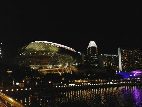 Esplanade Park: nice pic at night