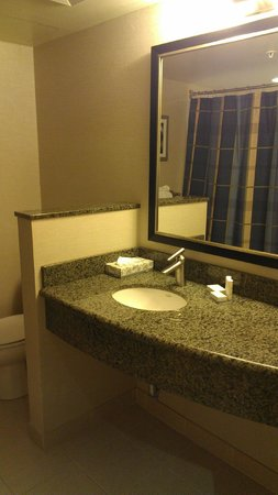 Courtyard by Marriott Montreal Airport : Bathroom.