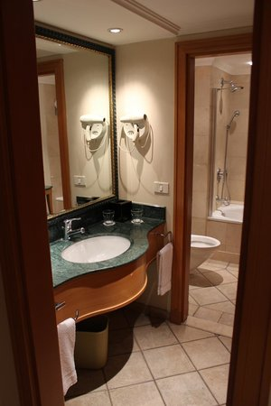 U Suites Eilat : Bathroom and hairdryer