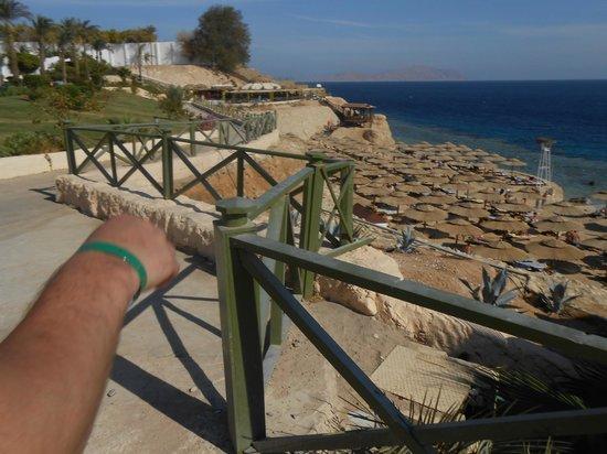 Dessole Nesco Joyous: вид сверху на пляж